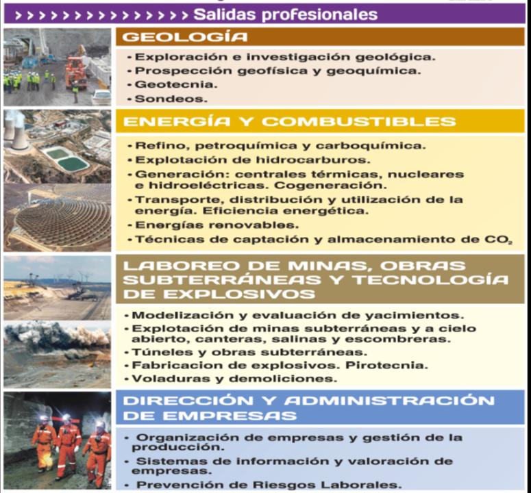 Escuela de Ingeniería de Minas, Energía y Materiales de Oviedo ...